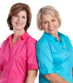 The Helping You Move Team, Betty Cannon and Cheryl Ashurst with RE/MAX Properties